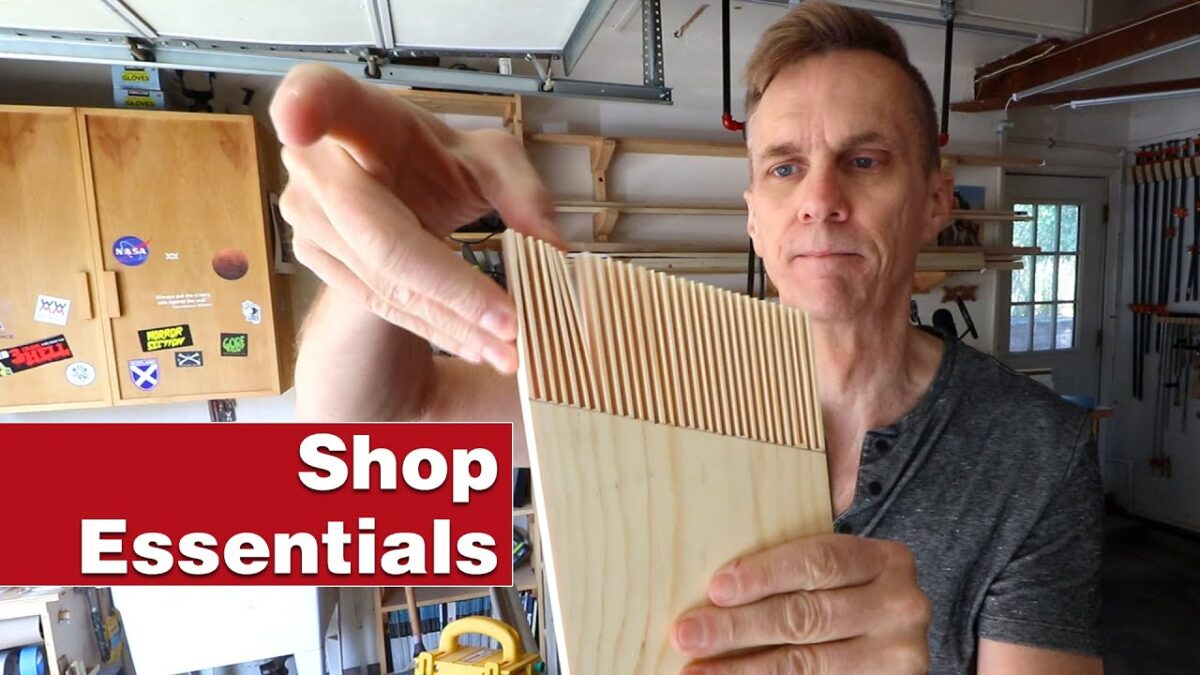 Two simple featherboards for your shop, and why you need them. Essential woodworking shop project.