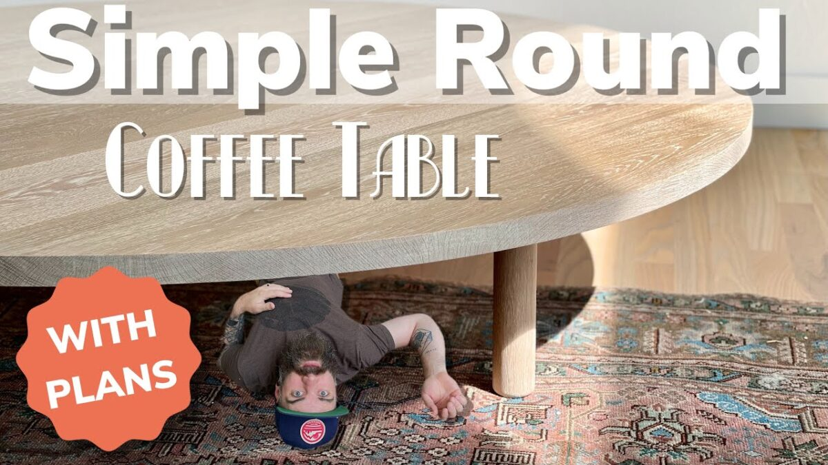 Simple Wooden Coffee Table Build || You Can Make This Coffee Table