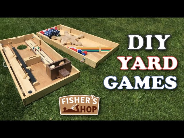Woodworking: Fisher's Yard Games