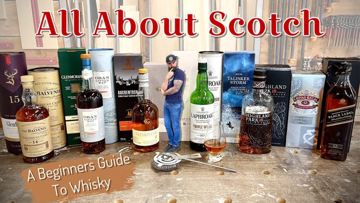 All About Scotch || Whiskey for Dummies