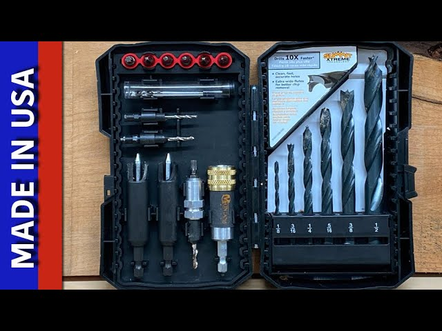 Must Have Drill, Driver, & Plug Cutting Set - Montana Brand Made in USA