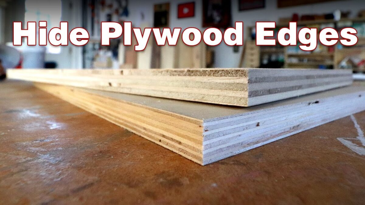 4 ways to deal with plywood edges: How to hide them. Or not.