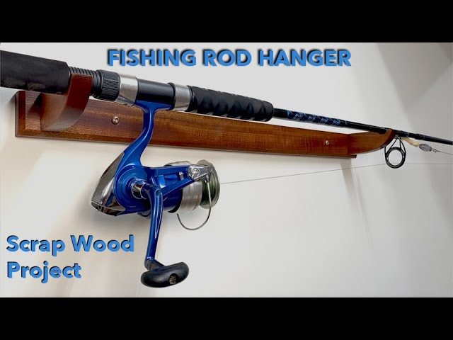 How to Make a Fishing Rod Hanger