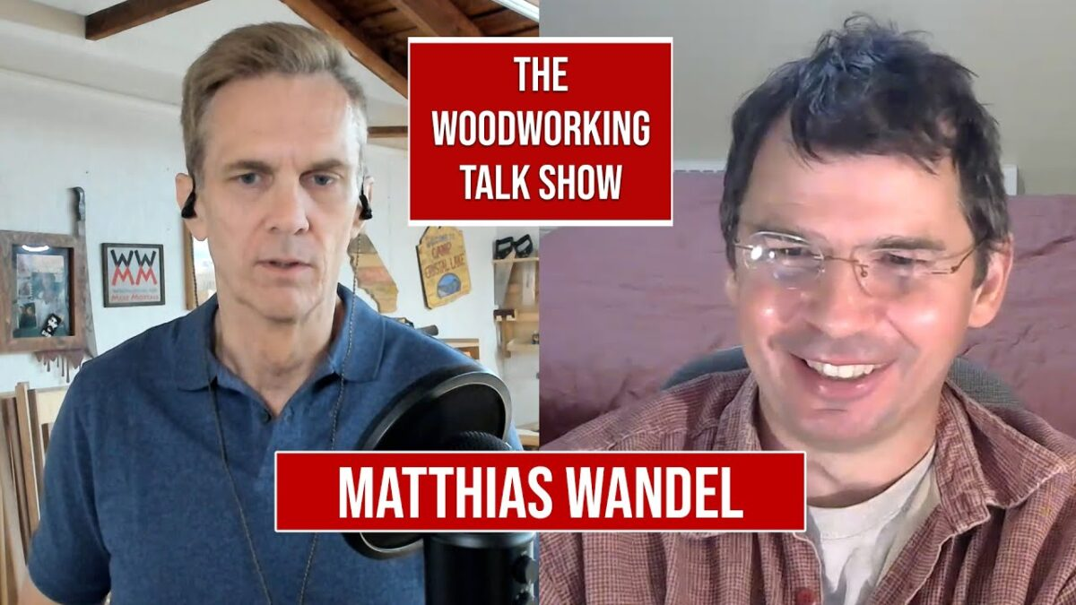 Matthias Wandel: Running the biggest woodworking channel on YouTube.