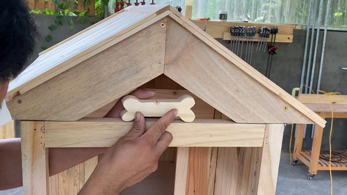 Incredible Dog Houses For Your Best Friend // Build A Dog House From Wood Unloaded From Old Pallets