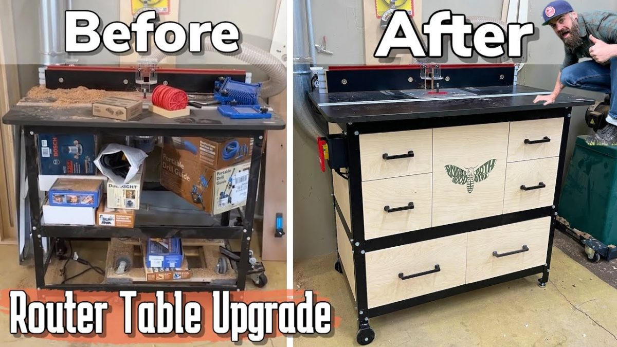 Do This to Your Router Table || One Day Shop Build