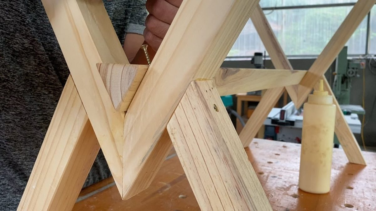 Crazy Woodworking Ideas // How To Build A Two-Person Dining Table And Chairs _ Part 1